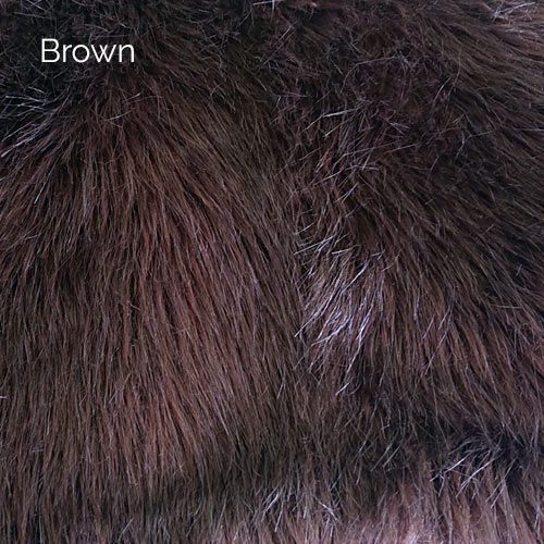 Brown Faux Fur