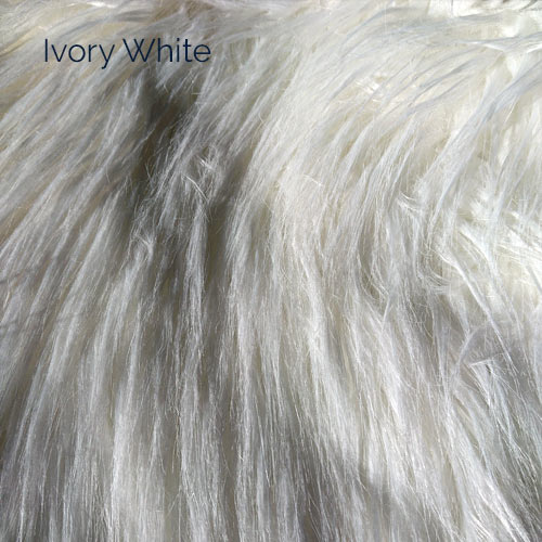 Ivory White Faux Fur